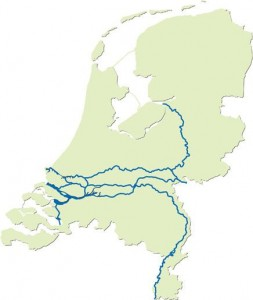 Grote rivieren nederland