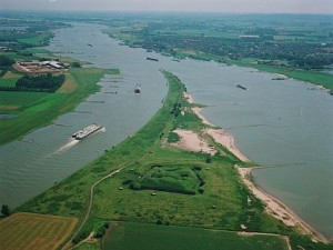 Rivierenkaart nederland